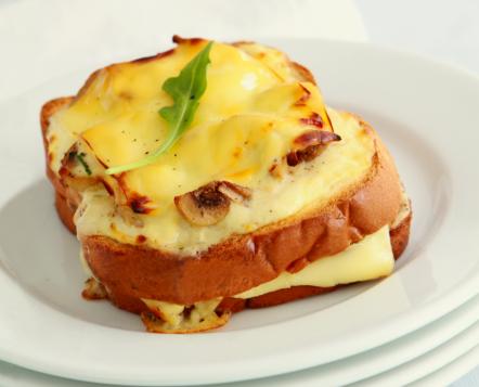 Mushroom and Cheddar Croque Monsieur | ToTT Store