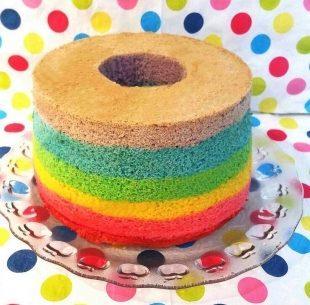 Rainbow Chiffon Cake Tott Store